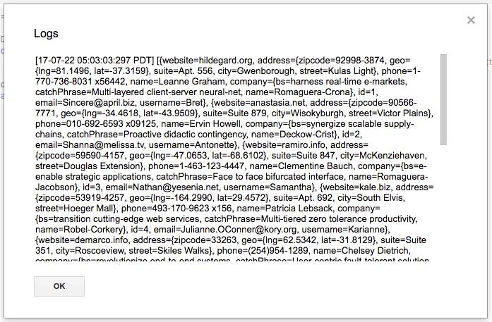 google-app-script-logger